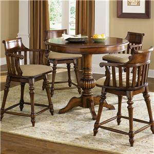 Liberty Furniture Crystal Lakes 5 Piece Pub Set