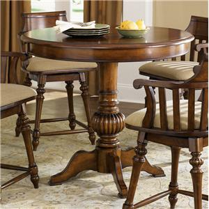 Liberty Furniture Crystal Lakes Round Pub Table
