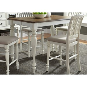 Liberty Furniture Cumberland Creek Dining Gathering Table