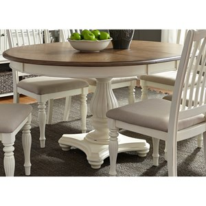 Vendor 5349 Cumberland Creek Dining Pedestal Table