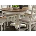 Liberty Furniture Cumberland Creek Dining Pedestal Table - Item Number: 334-P4860+T4860