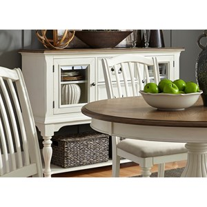 Vendor 5349 Cumberland Creek Dining Two Drawer Server