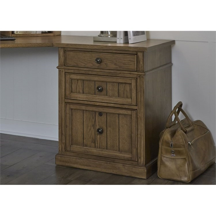 Liberty Furniture Cumberland Creek 3 Drawer File Cabinet - Item Number: 421-HO147