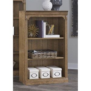 "Liberty Furniture Cumberland Creek 48"" Open Bookcase"