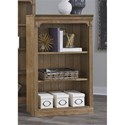 "Liberty Furniture Cumberland Creek 48"" Open Bookcase - Item Number: 421-HO3048"