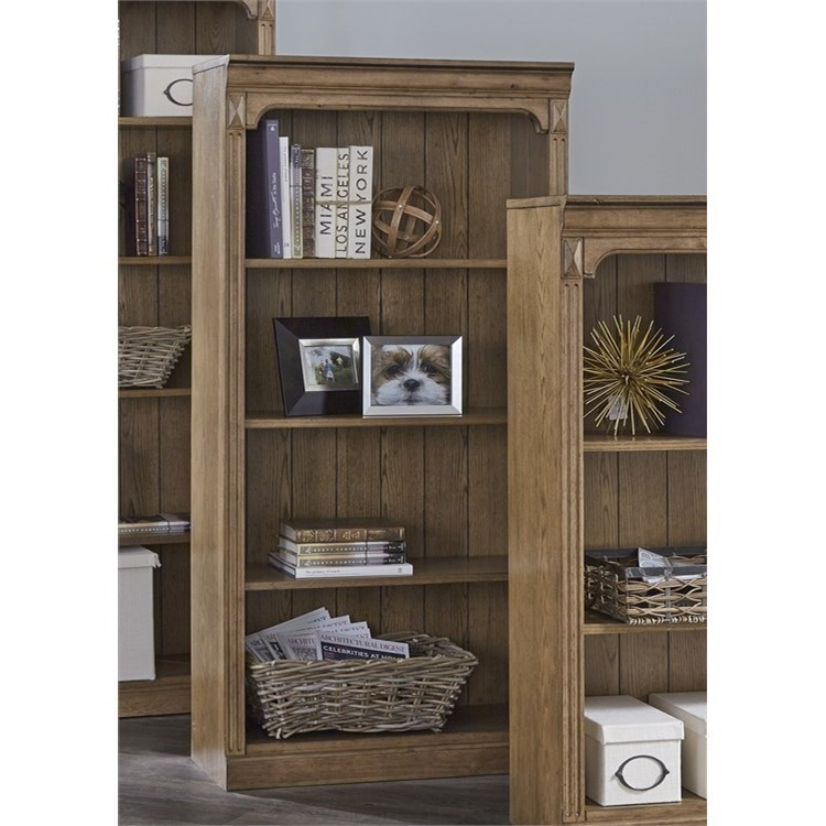 "Liberty Furniture Cumberland Creek 60"" Open Bookcase - Item Number: 421-HO3060"