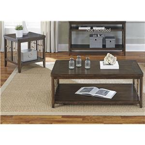 Liberty Furniture Dockside 3 Piece Occasional Table Set