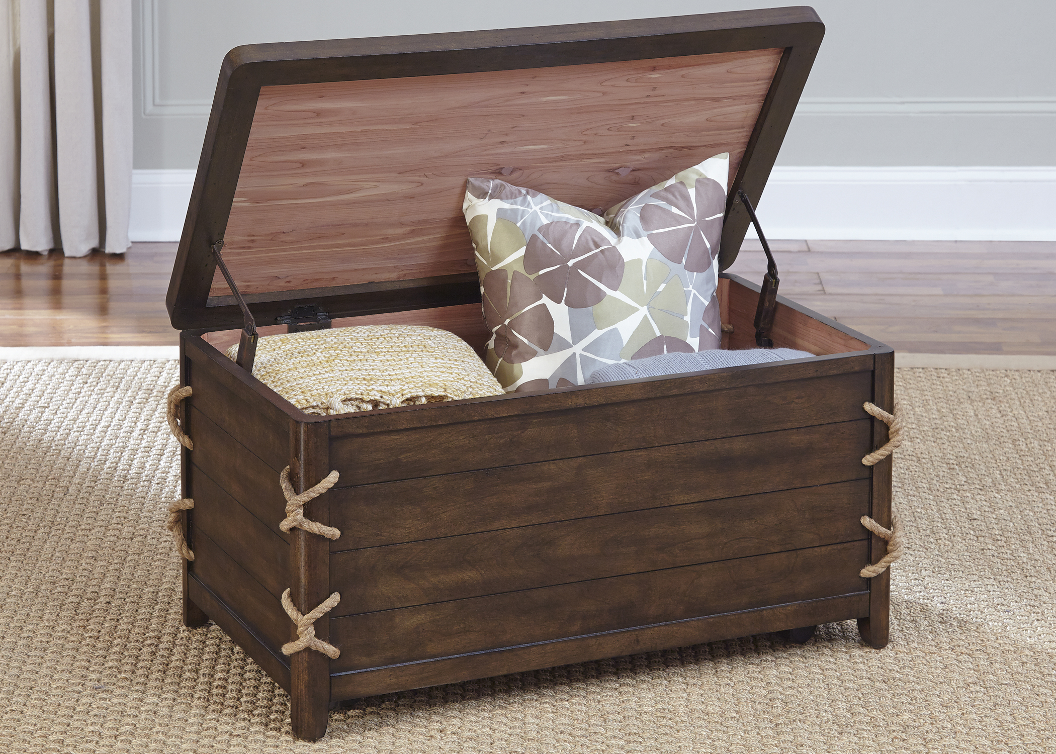 Liberty Furniture Dockside Storage Trunk - Item Number: 169-OT1012