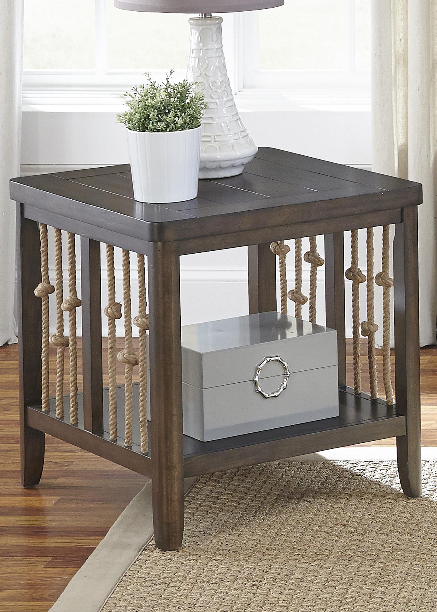 Liberty Furniture Dockside End Table                                    - Item Number: 169-OT1020