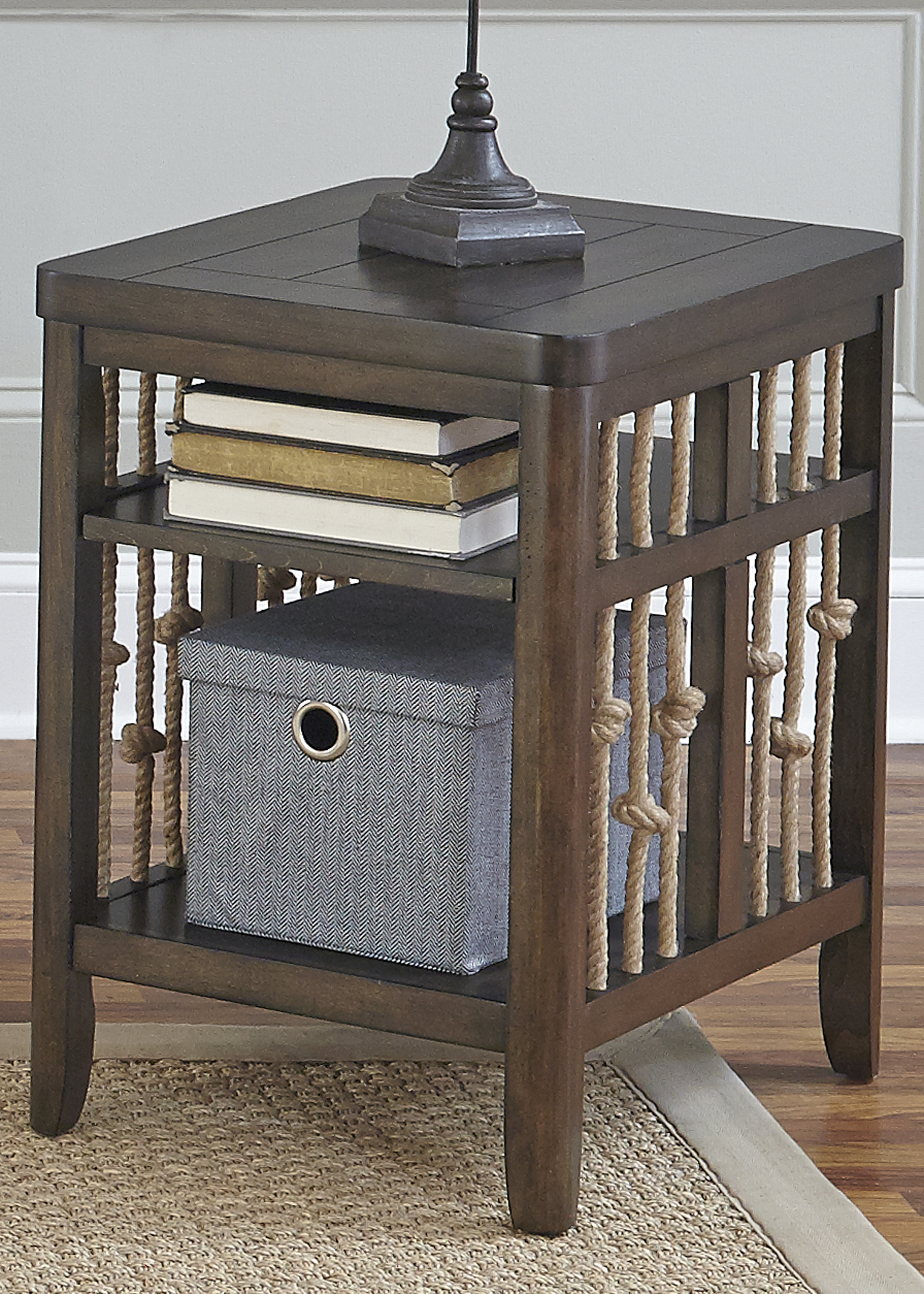 Liberty Furniture Dockside Chair Side Table                             - Item Number: 169-OT1021