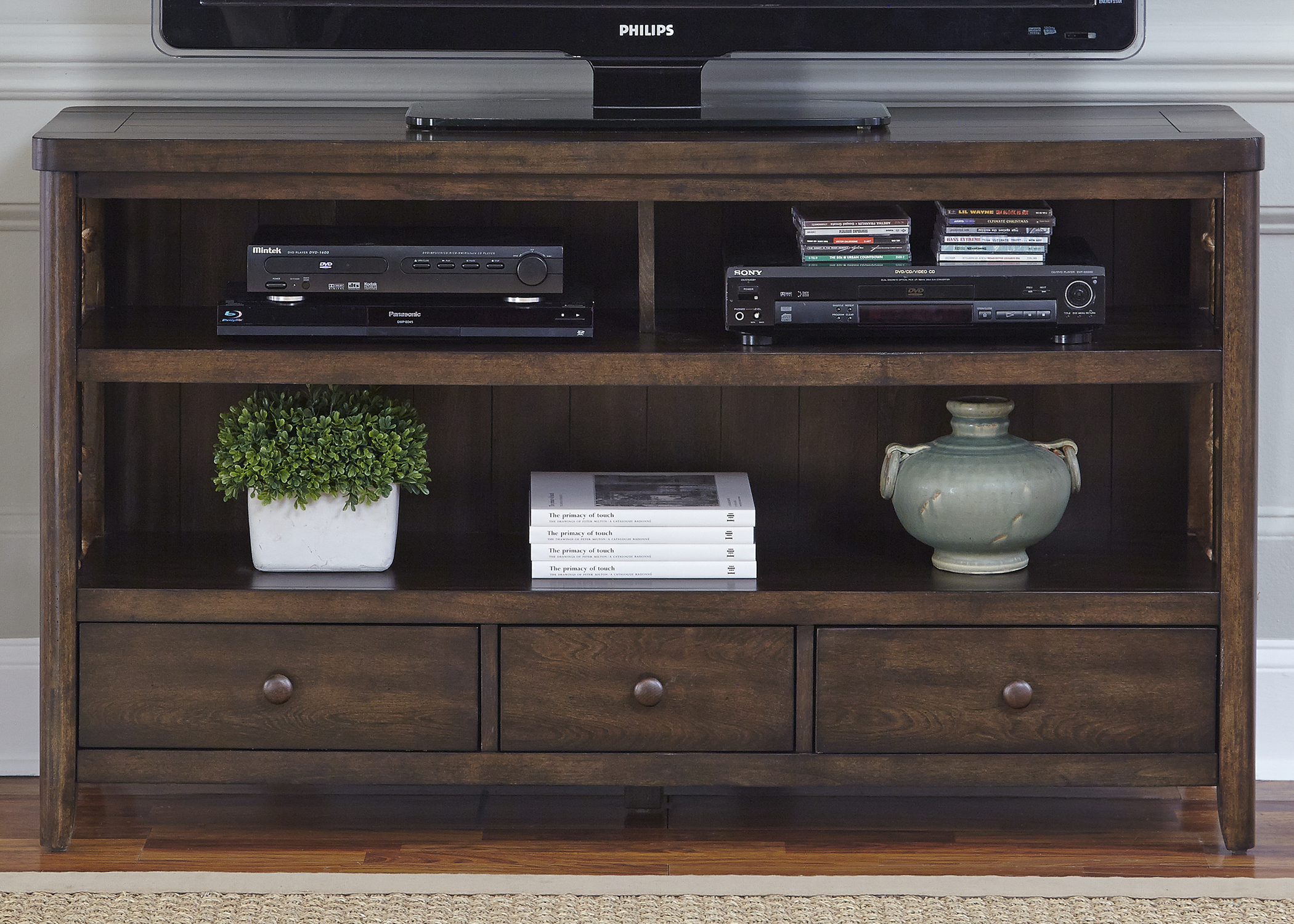 Liberty Furniture Dockside TV Console                                   - Item Number: 169-TV55