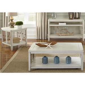 Vendor 5349 Dockside II 3 Piece Occasional Table Set