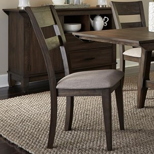 Vendor 5349 Double Bridge Splat Back Side Chair