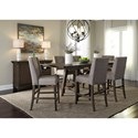 Liberty Furniture Double Bridge Dining Room Group - Item Number: 152-CD Dining Room Group 4
