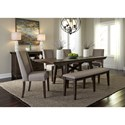 Liberty Furniture Double Bridge Dining Room Group - Item Number: 152-CD Dining Room Group 5