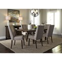 Liberty Furniture Double Bridge Dining Room Group - Item Number: 152-CD Dining Room Group 6