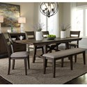 Liberty Furniture Double Bridge Dining Room Group  - Item Number: 152-CD Dining Room Group 7