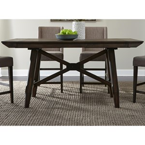 Liberty Furniture Double Bridge Gathering Table