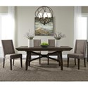 Liberty Furniture Double Bridge 5 Piece Trestle Table Set - Item Number: 152-CD-O5TRS