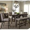 Liberty Furniture Double Bridge 6 Piece Gathering Table Set - Item Number: 152-CD-O6GTS