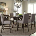 Liberty Furniture Double Bridge 7 Piece Gathering Table Set - Item Number: 152-CD-O7GTS