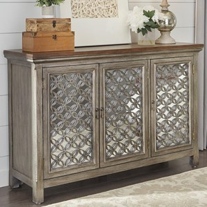 Liberty Furniture Eclectic Living Accents 3 Door Accent Chest