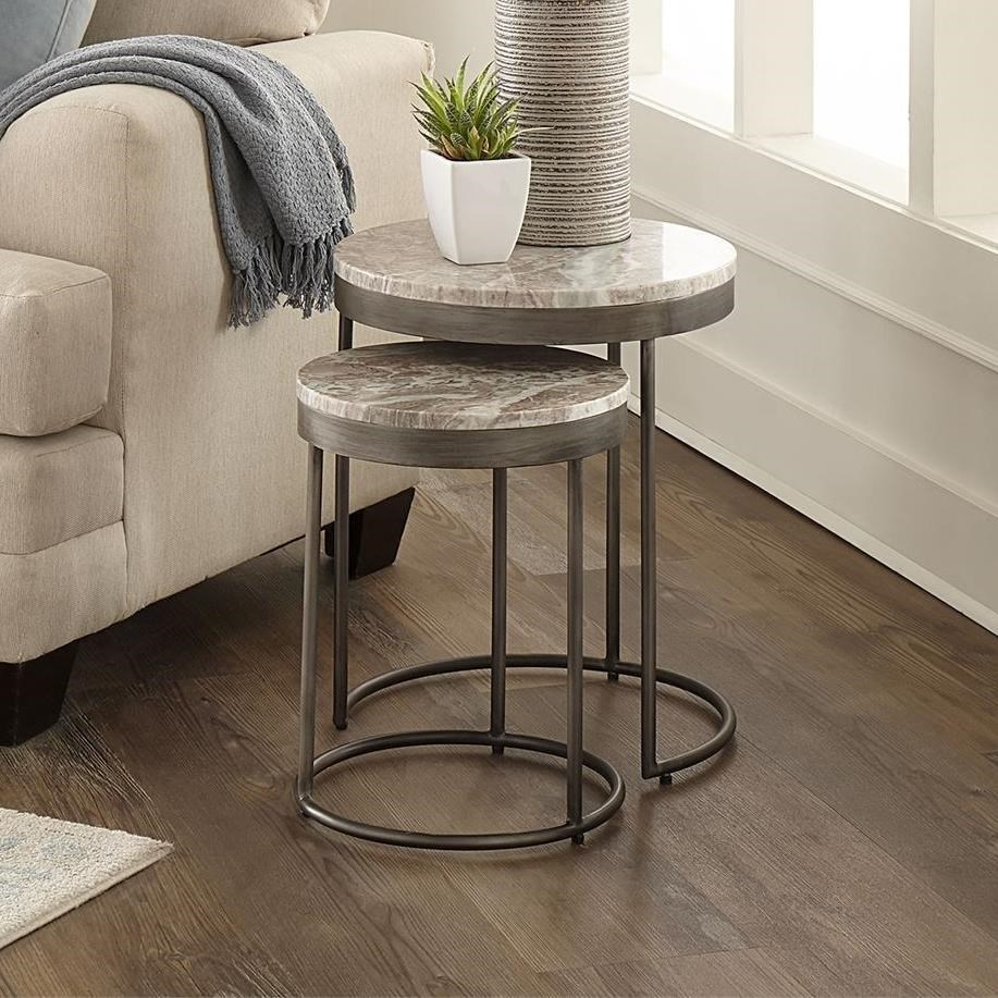 Eclipse Nesting Tables by Libby at Walker's Furniture