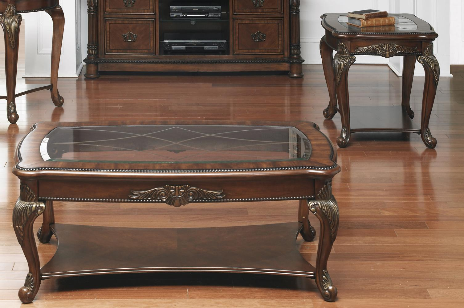 Liberty Furniture Eden Park 3 Piece Occasional Table Set - Item Number: 882-OT1010+2x20
