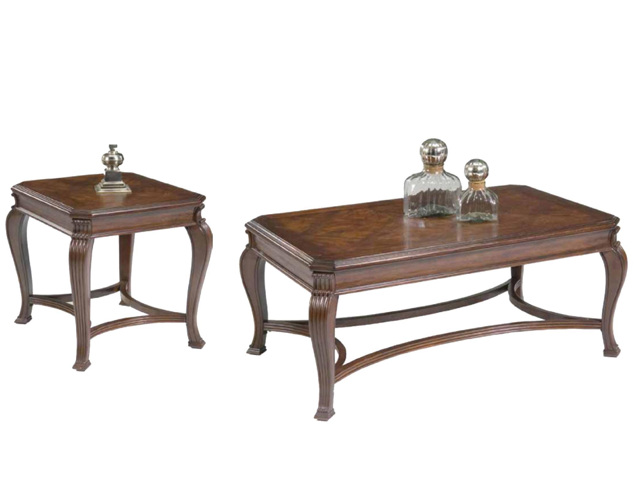 Liberty Furniture Ellington 3 Piece Occasional Table Set - Item Number: 741-OT1010+2x20