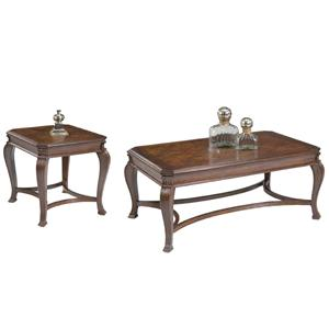 Liberty Furniture Ellington 3 Piece Occasional Table Set