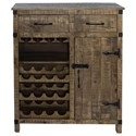 Liberty Furniture Emerson Wine Accent Cabinet - Item Number: 2080-AC3742