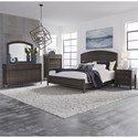 Liberty Furniture Essex Queen Bedroom Group - Item Number: 425-BR-QPBDMCN