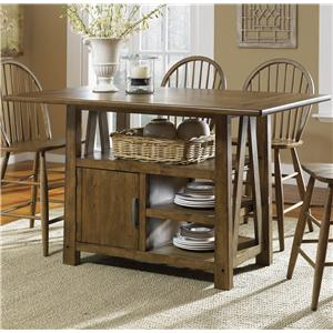 Liberty Furniture Farmhouse  Center Island Table