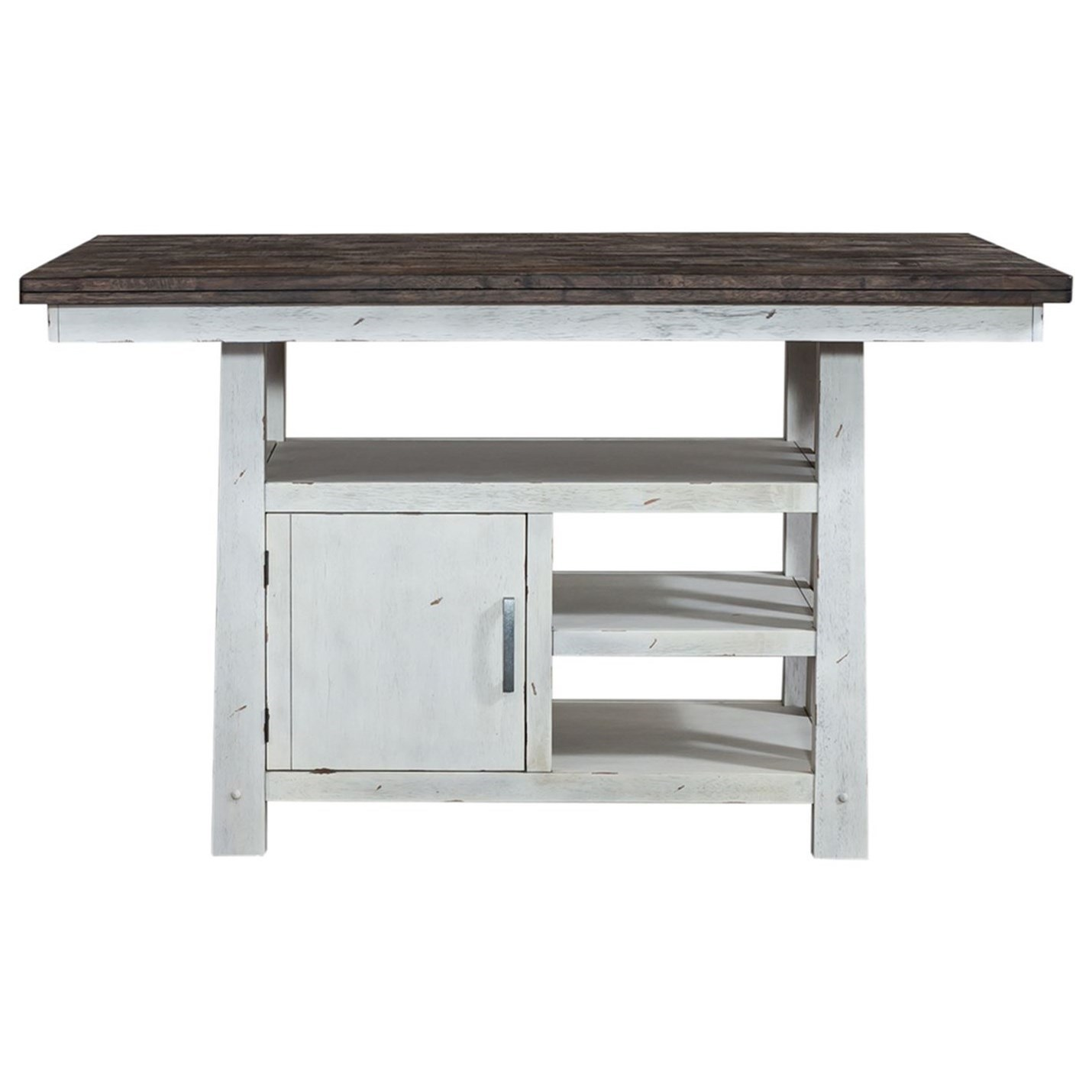 Farmhouse Center Island Table by Libby at Walker's Furniture