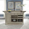 Liberty Furniture Farmington Bar with Marble Top - Item Number: 652-BAR7242