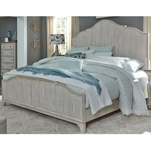 Sarah Randolph Designs Farmhouse Reimagined King Panel Bed