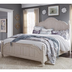 Liberty Furniture Farmhouse Reimagined King Poster Bed
