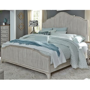 Liberty Furniture Farmhouse Reimagined Queen Panel Bed
