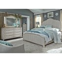Liberty Furniture Farmhouse Reimagined Queen Bedroom Group - Item Number: 652-BR-QPBDMC