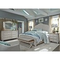 Liberty Furniture Farmhouse Reimagined Queen Bedroom Group - Item Number: 652-BR-QPBDMCN