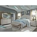 Sarah Randolph Designs Farmhouse Reimagined Queen Bedroom Group - Item Number: 652-BR-QPBDMCN