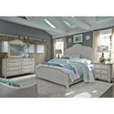 Liberty Furniture Farmhouse Reimagined Queen Bedroom Group - Item Number: 652-BR-QPBDMN