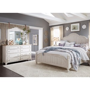 Liberty Furniture Farmhouse Reimagined Queen Bedroom Group