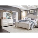 Liberty Furniture Farmhouse Reimagined Queen Bedroom Group - Item Number: 652-BR-QPSDM