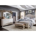 Liberty Furniture Farmhouse Reimagined Queen Bedroom Group - Item Number: 652-BR-QPSDMC