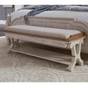 Liberty Furniture Farmhouse Reimagined Bed Bench - Item Number: 652-BR47