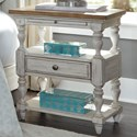 Liberty Furniture Farmhouse Reimagined 1 Drawer Night Stand - Item Number: 652-BR62