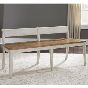 Liberty Furniture Farmhouse Reimagined Dining Bench