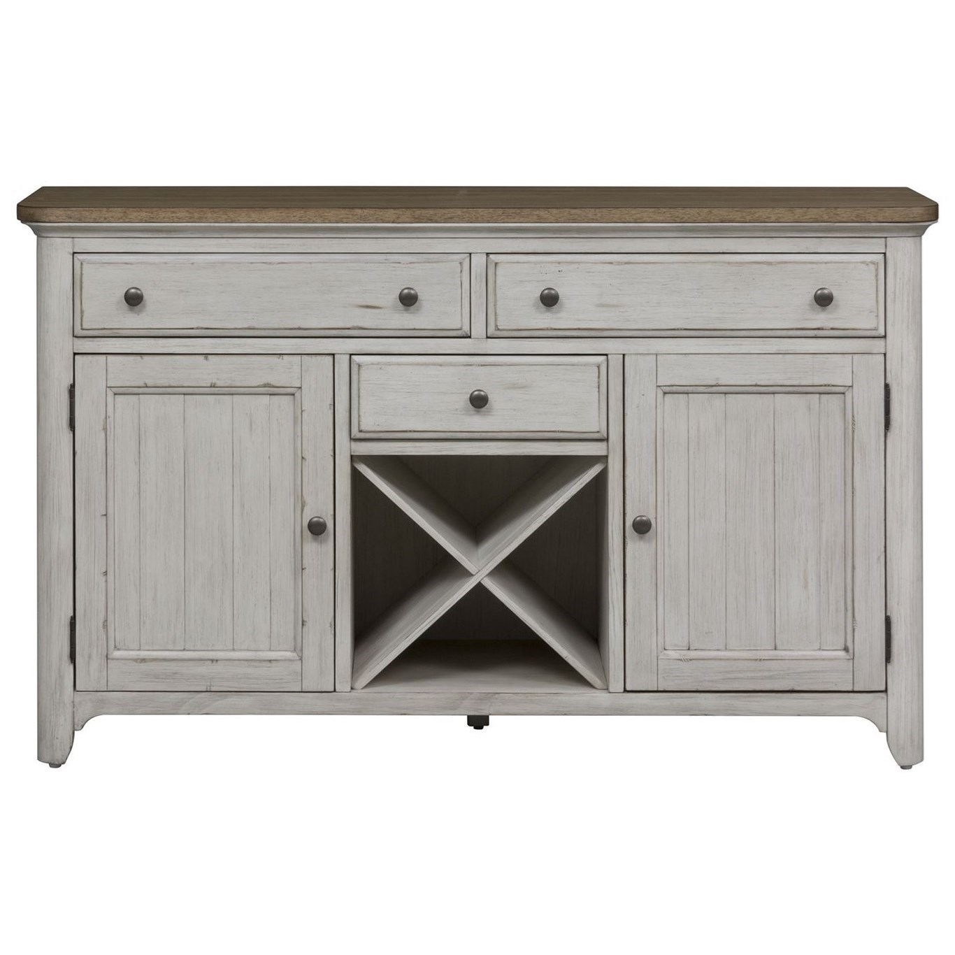 Farmhouse Reimagined Buffet by Liberty Furniture at Northeast Factory Direct