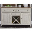 Liberty Furniture Farmhouse Reimagined Buffet - Item Number: 652-CB6036